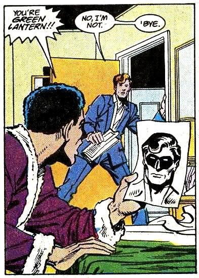 Green Lantern secret identity 2169