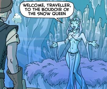 Oglaf Snow Queen