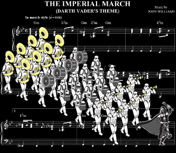 Imperial March large 4848