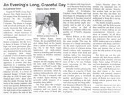 1997 Chicago Citizen Theatre Review by Lawrence Dunn of the Excaliber Shakespeare Company of Chicago's multiracial cast revival of Eugene O'Neill's Long Day's Journey Into Night.