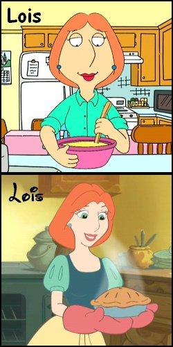 Disney princess lois griffin 9969