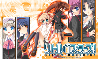 Little Busters21 heroines