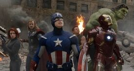 Avengers Circle 7902