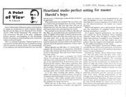 Gary info review of Darryl Maximilian Robinson's staging of Fugard's Master Harold And The Boys.