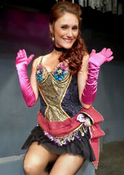 Amanda Majkrzak as Evelyn Nesbitt in the 2013 musical revival of Ragtime at The Westchester Playhouse in Los Angeles.