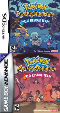 Pokemon Mystery Dungeon Rescue Team