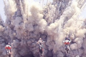 Cycling out of the blast