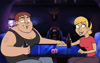 Butch femme dynamics dating sim