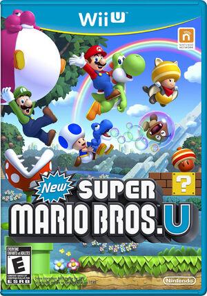 New Super Mario Bros. U - Box Art- AllTheTropes