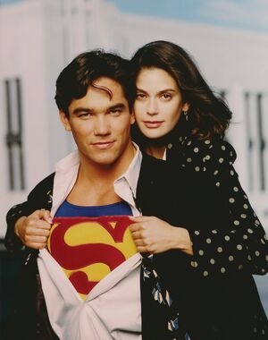 Lois and clark redhead actress superman