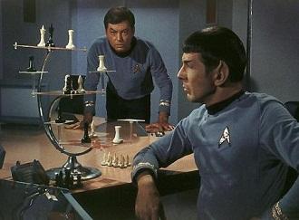 Spock McCoy 3D chess 6865