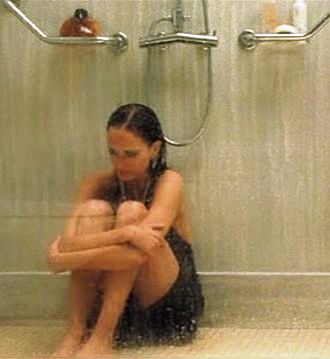 Cold shower jonathan naked