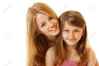 15278449-portrait-of-two-sisters-happy-smiling-child-and-teen-isolated--Stock-Photo