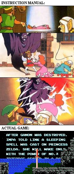 Zelda 2 backstory 5390