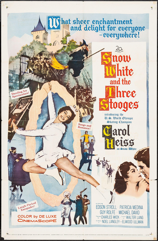 Snow white stooges poster 1286