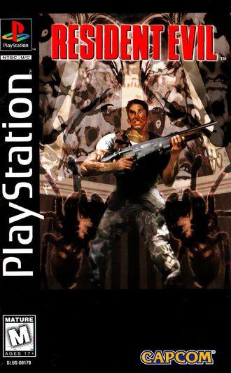 Resident Evil 1 Cover Art
