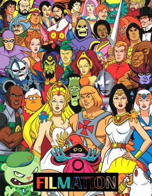 Filmation Logo With Characters