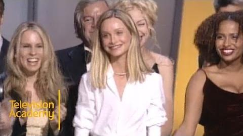 ALLY MCBEAL Wins Outstanding Comedy Series Emmy Archive 1999