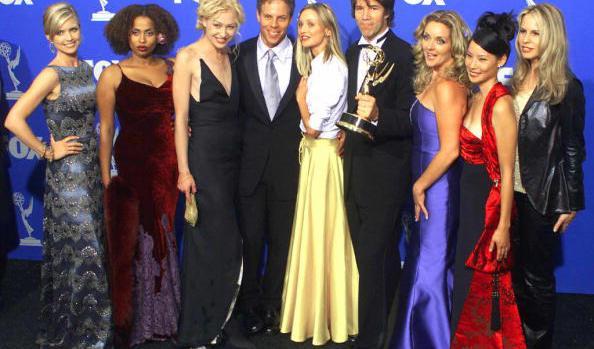 1999 Primetime Emmy Awards - Ally McBeal Cast 01