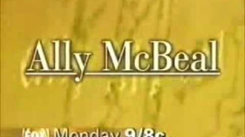 Fox Ally McBeal Promo 2 - January 23, 1998