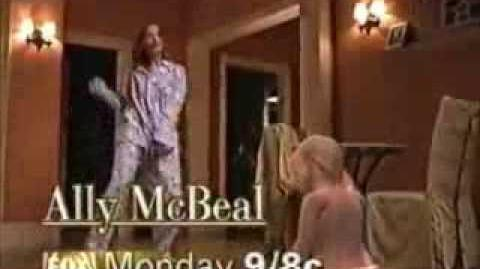 Fox Ally McBeal Promo - January 23, 1998