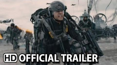 Edge Of Tomorrow Official Trailer 2 (2014) HD
