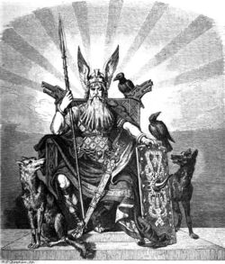 Odin, the Allfather of the Norse Gods