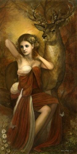 Sjöfn, Goddess of Love