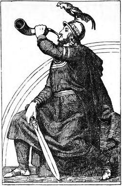 Heimdallr (1907) by J. T. Lundbye