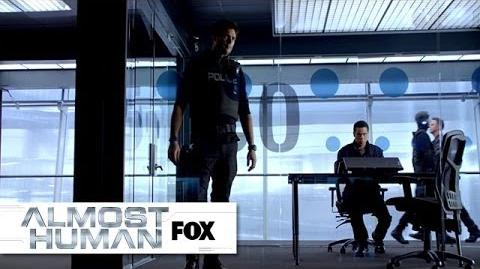 """Kennex Explains The XRN from """"Unbound"""" ALMOST HUMAN FOX BROADCASTING"""