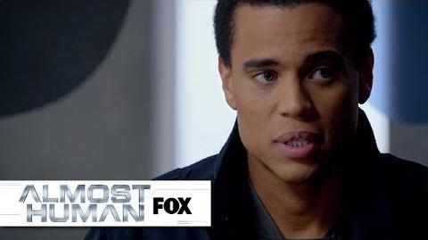 "Dorian Receives His Performance Evaluation from ""Straw Man"" ALMOST HUMAN FOX BROADCASTING"