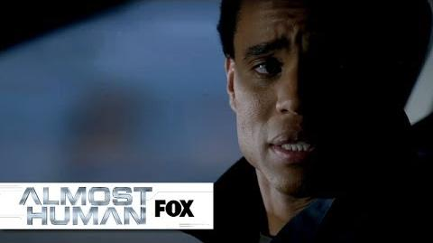 "Dorian's Independence from ""Blood Brothers"" ALMOST HUMAN FOX BROADCASTING"