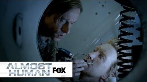 "Undercover Rudy from ""The Bends"" ALMOST HUMAN FOX BROADCASTING"