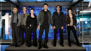 Almost Human Wiki - Cast Photo