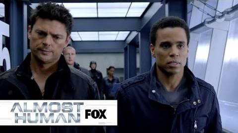 "Under Control from ""Perception"" ALMOST HUMAN FOX BROADCASTING"