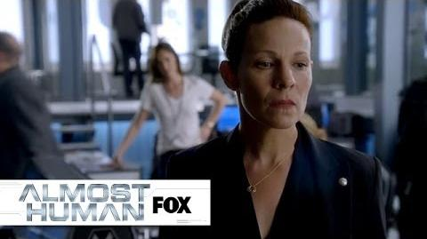 "Insubordination from ""Are You Receiving?"" ALMOST HUMAN FOX BROADCASTING"
