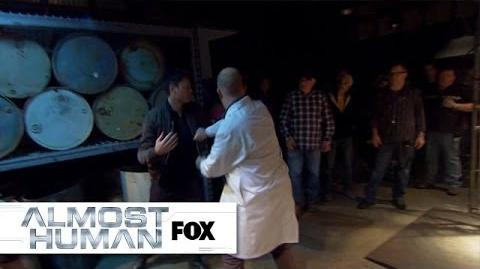 """Behind The Scenes """"Beholder"""" ALMOST HUMAN FOX BROADCASTING"""