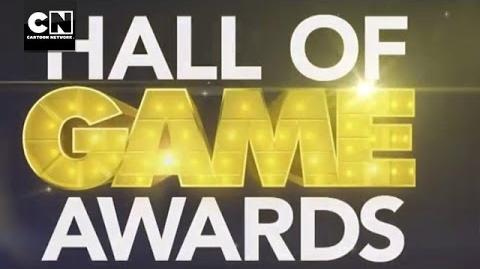 Hall of Game Awards Show - Scheduled to Appear Cartoon Network