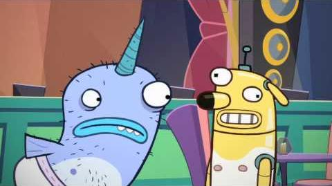 Almost Naked Animals - Narwhal Meets Robo Howie-0
