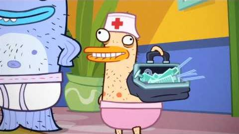 Duck, The Registered Nurse