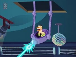 Laser Duck