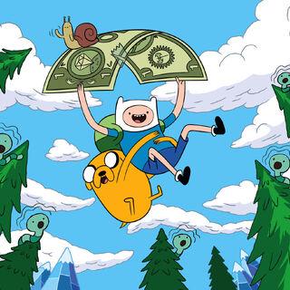 Cartoon Network's <i>Adventure Time</i>.