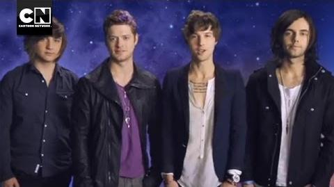 Hall of Game Awards 2012 Hot Chelle Rae Music Video Cartoon Network