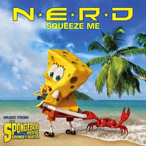 NERD Squeeze Me - Sponge Out of Water