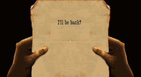 A message from one eyed jack