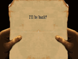 The message from One Eyed Jack