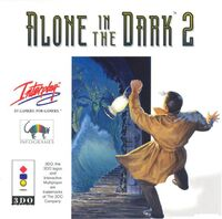 Alone in the Dark 2 3DO cover