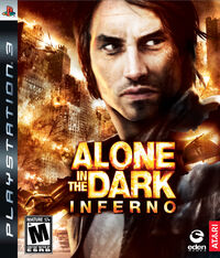 Alone in the Dark 5 PS3 cover