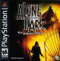 Alone in the Dark 4 PSX cover
