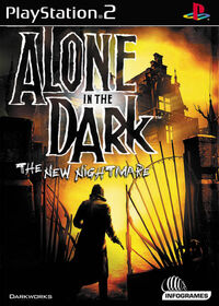 Alone in the Dark 4 PS2 cover